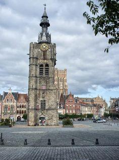 Beffroi de Béthune - département du Pas-de-Calais