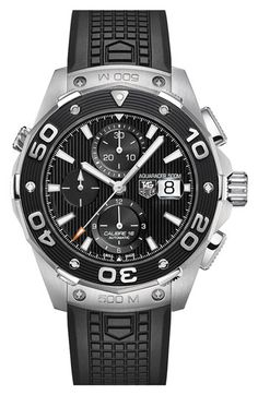 TAG Heuer 'Aquaracer' Automatic Chronograph Watch