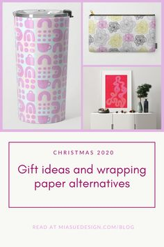 Christmas Wrapping, Christmas Gifts, Some Ideas, Surface Pattern Design, Creative Studio, Alternative, Wraps, Paper, Blog