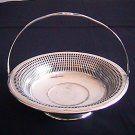 Art Deco Cosmos E.P.N.S Silver Plated Basket U.S.A