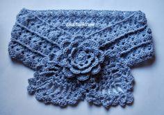Crochet Gratis Patrón Bufanda {Pretty Little Piña calentador del cuello}