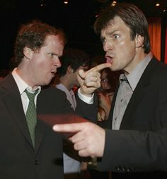 Joss and Nathan Fillion