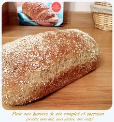 Soft bread without gluten, gums, inspired by the Ball Healthy Crusty Bread in 5 Minutes a Day Sin Gluten, Sans Gluten Vegan, Foods With Gluten, Gluten Free Pie Crust, Gluten Free Cakes, Gluten Free Baking, Gluten Free Recipes, Cooking Chef, Healthy Cooking