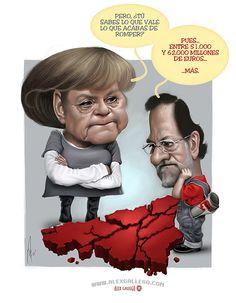 Cuanto vale, por Alex Gallego #rescate #bancos #españa #spanien #merkel #rajoy