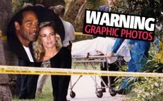 Warning: these images are extremely graphic. Scene Image, Scene Photo, Ronald Goldman, Oj Simpson, True Crime Books, Fall From Grace, Rare Images, Afraid Of The Dark, Serial Killers