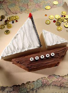 http://turksail.com.tr Easy sail boat cake