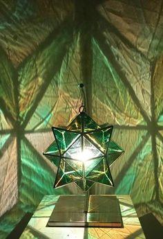 Zakay Glass Luminary Sculpture - 'Hadar' Large - Bespoke Glass Type  Asaf Zakay art sculpture made in Bangalow, Australia. Worldwide shipping!   Shop it here --->  www.zakayglasscreations.com
