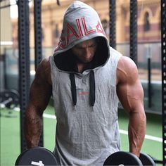 3db75a9c71858 New Brand Sleeveless Hoodie Bodybuilding Fitness Men gyms Tank Top Golds  Vest Stringer sportswear t-