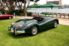 1952 Jaguar XK140 Roadster - green
