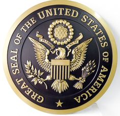 New Wall Plaque Great Seal The United States, Brass Black Background Colors online shopping - Prettytoppro Brass Plaques, Wall Plaques, Black Backgrounds, Colorful Backgrounds, Jack Sparrow Tattoos, Belleek Pottery, Money Notes, Congratulations To You, Police