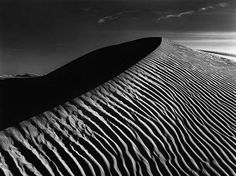 Ansel Adams - such an amazing tonal range and ability to capture texture