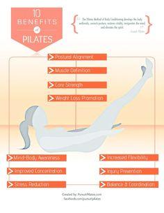 The health benefits of Pilates