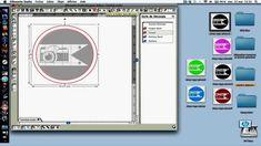 tuto pour faire du print and cut : imprimer et découper avec la silhouette caméo
