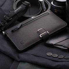 Dango Pioneer Large Travel Wallet is here to carry all of your important travel documents Everyday Carry Bag, Edc, Custom Photo Books, Bullet Casing, Travel Items, Travel Gadgets, Men's Grooming, Long Wallet, Car Seats