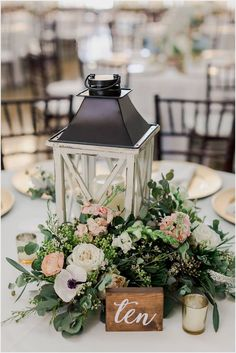 Lantern Centerpieces Luxury Head Table Centerpieces Spring Wedding Flowers White and greenery wedding bouquets White roses and eucalyptus Romantic bridesmaid flowers Beau. Spring Wedding Flowers, Floral Wedding, Wedding Colors, Wedding Plants, Spring Weddings, Wedding Ideas For Spring, Autumn Wedding, Rustic Wedding Bouquets, Boho Wedding