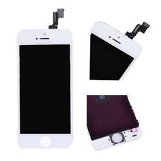 APPLE PARTS /  IPHONE PARTS /  IPHONE 5S FRONT SCREEN LCD + DIGITIZER ASSEMBLY WHITE $64.99 Price