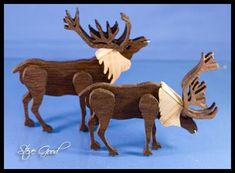 Scroll Saw Reindeer Sleigh