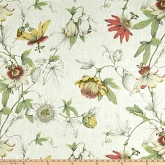 P Kaufmann Country Cottage Linen Fabric, White Tea, Fabric By The Yard Linen Fabric, Linen Bedding, Bed Linens, Bedding Sets, Master Suite, Master Bath, Gardening, Toss Pillows, Country Decor