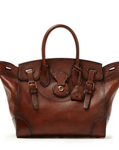 Medium Soft Ricky Bag - Ralph Lauren Top Handles & Satchels - RalphLauren.com