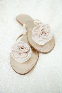 bridesmaids flip flops