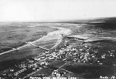 1937 aerial view of Neppel (Moses Lake). Kesslyn Runs Moses Lake, Beloved Book, Columbia River, Aerial View, Postcards, Washington, History, Beach, Water