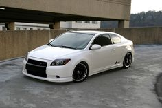 2008 Scion TC - I like the front grill.