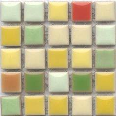 confetti colours kitchen tiles!