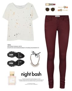 """""""""""Sleep doesn't help if it's your soul that's tired."""""""" by are-you-with-me ❤ liked on Polyvore featuring Vero Moda, Kain, Marni, Louis Vuitton, Maison Francis Kurkdjian, RetroSuperFuture, Miss Selfridge, Clarins, clarins and marni"""