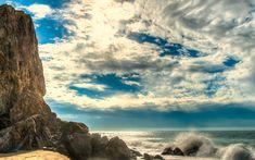 Download wallpapers Malibu, coast, ocean, summer, HDR, USA, America