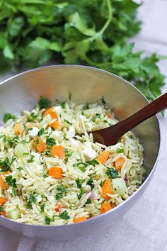 orzo pasta - dang that's delicious
