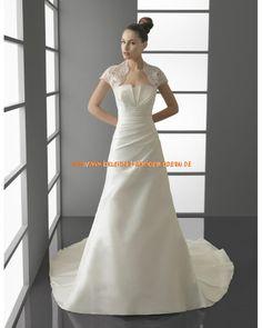 Unique schlichte Brautkleider im Meerjungfrauenstil mit langer Schleppe 2013