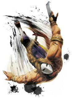 View an image titled 'Vega Art' in our Super Street Fighter IV art gallery featuring official character designs, concept art, and promo pictures. Street Fighter Game, Street Fighter Characters, Super Street Fighter, Comic Books Art, Comic Art, Book Art, Geeks, Game Art, Character Art