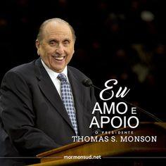 Nós amamos e apoiamos o Profeta, Vidente e Revelador, Pres.Monson! Acesse: http://mormonsud.net