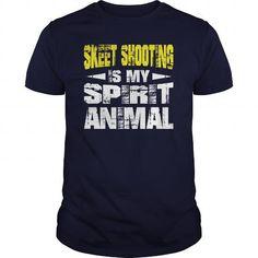 I Love  Skeet Shooting Spirit Animal Shirts Shirts & Tees