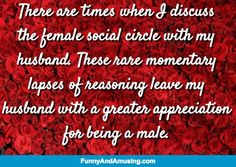 I Am Told Women Are Petty -There are times when I discuss the female social circle with my husband. These rare momentary lapses of reasoning leave my husband with a greater appreciation for being a male.