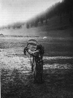 Photo of an Oirat shaman from 1929