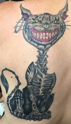 Chesire Tattoo American McGee's Alice