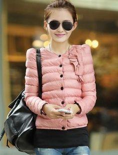 Korean Winter Fashion Slim Thicker Cotton Coat
