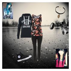 """""""Unbenannt #43"""" by oosammyoo on Polyvore featuring Mode, Superdry, New Look, Oasis, Converse, Vanessa Mooney und Casetify"""