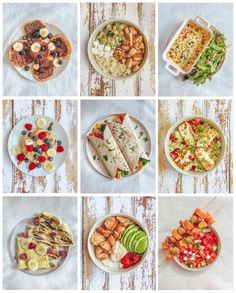 21 balanced meal ideas - Lucile in Wonderland - special HealthywithLucile recipes to inspire you even more. Despite everything, I like - Health Breakfast, Breakfast Recipes, Tapas, Health Eating Plan, Workout Diet Plan, Batch Cooking, Health Snacks, Health Diet, Keto Meal Plan