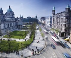 Belfast City Hall within walking distance of the Belfast Business Centre, ideal place to sit and read a book on your lunch. Belfast Northern Ireland, Ireland Uk, Ireland Homes, Ireland Travel, Southern Ireland, Cork Ireland, Ireland Vacation, Vacation Travel, Visit Belfast