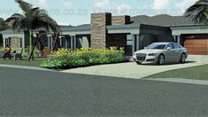 house plans one story . house plans with wrap around porch . house plans with in law suite . Free House Plans, Porch House Plans, House Plans One Story, Family House Plans, Modern House Plans, Story House, Floor Plan 4 Bedroom, 4 Bedroom House Plans, Open Floor House Plans