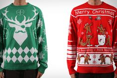 Ugly Christmas Sweaters shop website