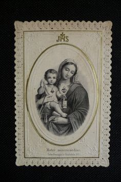 Vintage Catholic Prayer Cards
