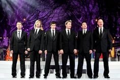 Celtic Thunder   Pictured here: Neil, Keith, Damian, Paul, Ryan, George