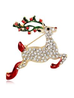 SHARE & Get it FREE | Christmas Rhinestone Reindeer BroochFor Fashion Lovers only:80,000+ Items • New Arrivals Daily Join Zaful: Get YOUR $50 NOW!