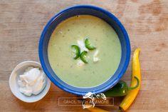 Cream of Jalapeno Soup