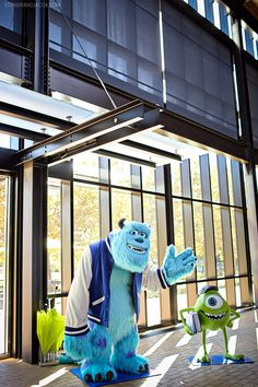 The real life version of monster's university campus. our visit at pixar. pixar animation studios tour. pixar animation studios tours. pixar studios. pixar emeryville.