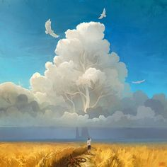 GRAND DIGITAL PAINTINGS OF A MAGICAL WORLD BY ARTEM RHADS CHEBOHA