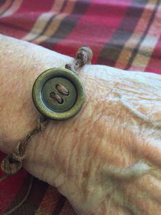Linda's button bracelet